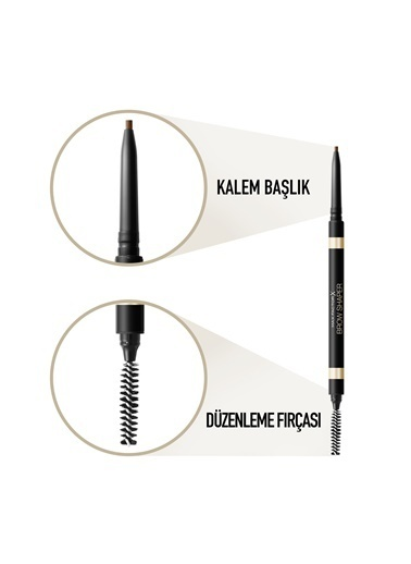 Max Factor Brow Shaper Kaş Kalemi 20 Brown Kahve